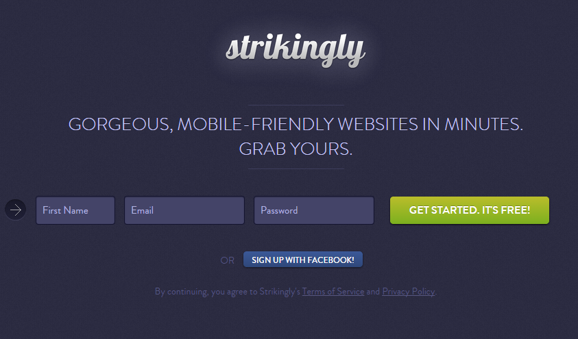 landing_page_example_strikingly_website