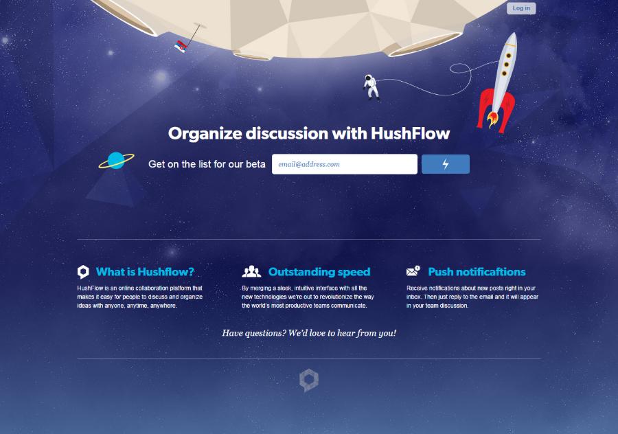 hushflow_landingpage_comingsoon_page_analysis