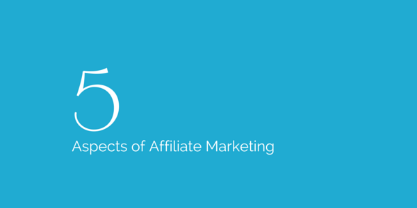 things in affiliate marketing