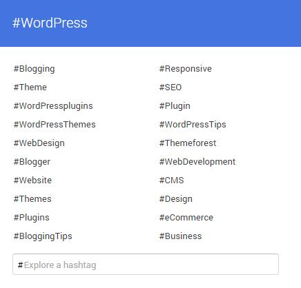 top hashtag on social media 2015