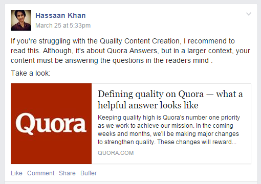 Q&A Website: Quora