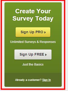 surveymonkey sidebar