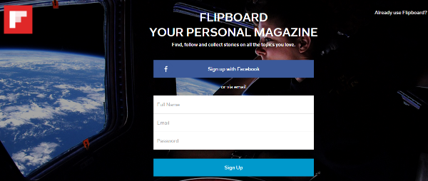 flipboard magazine app