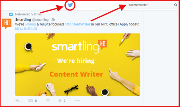 twitter-hashtag-for-content-writer