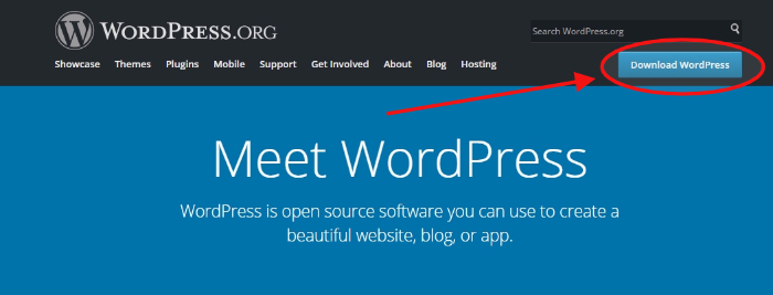 download wordpress open source