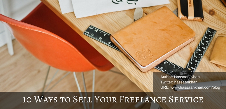 sell your freelance service