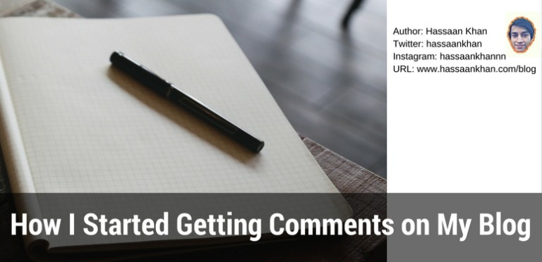 How I Started Getting Comments on My Blog