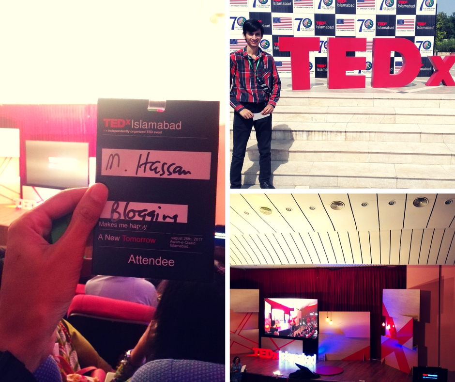 Attended TEDxIslamabad