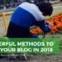 Grow your blog in 2018