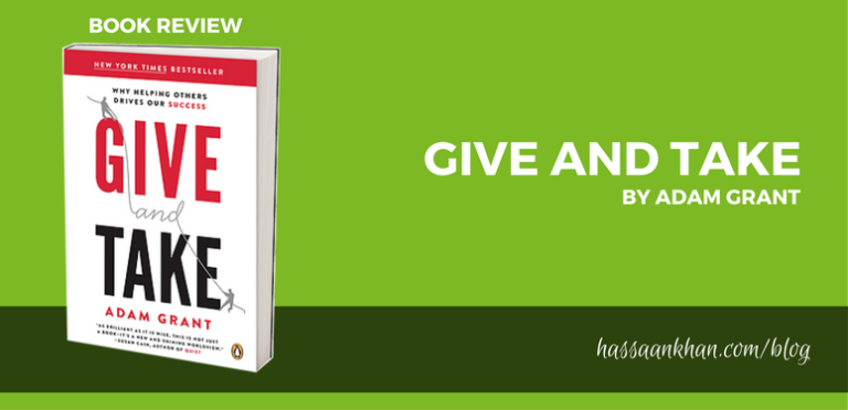 Book Review: Give and Take