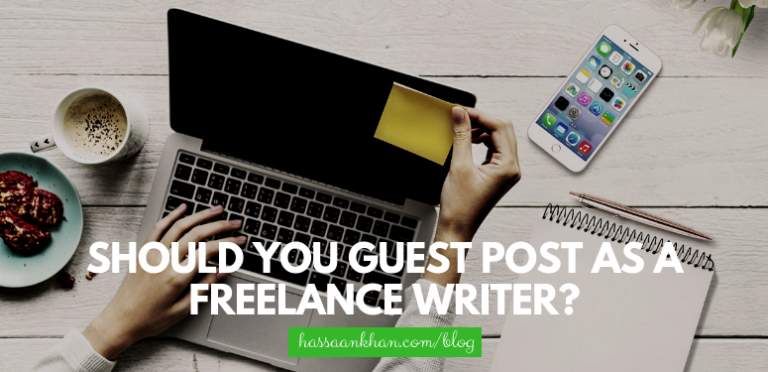 Should You Guest Post as a Freelance Writer?