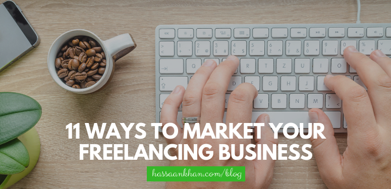 market your freelancing business