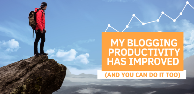 My Blogging Productivity has Improved (And You Can Do It too)